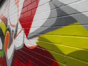Kleiner shames' street art